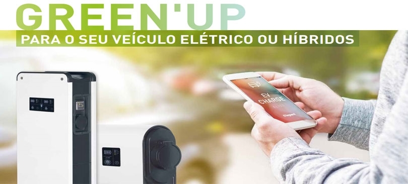 Green UP - Para veículos eléctricos ou híbridos da LEGRAND