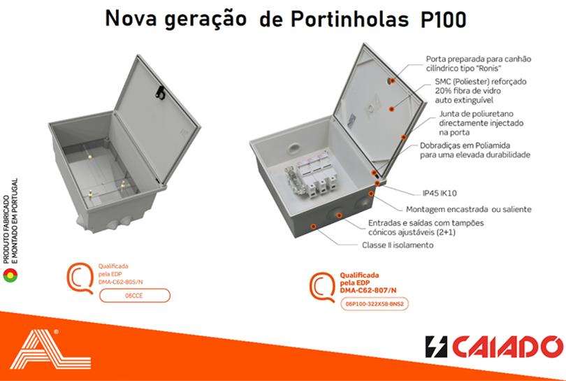 AL – Nova geração de portinholas P100
