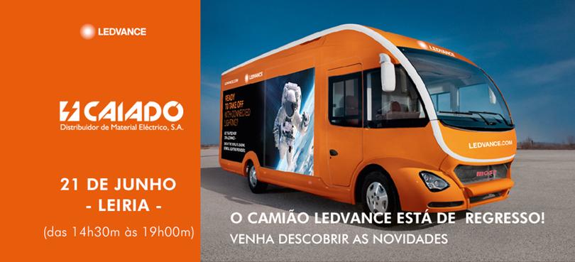 O camião LEDVANCE está de regresso a Portugal!