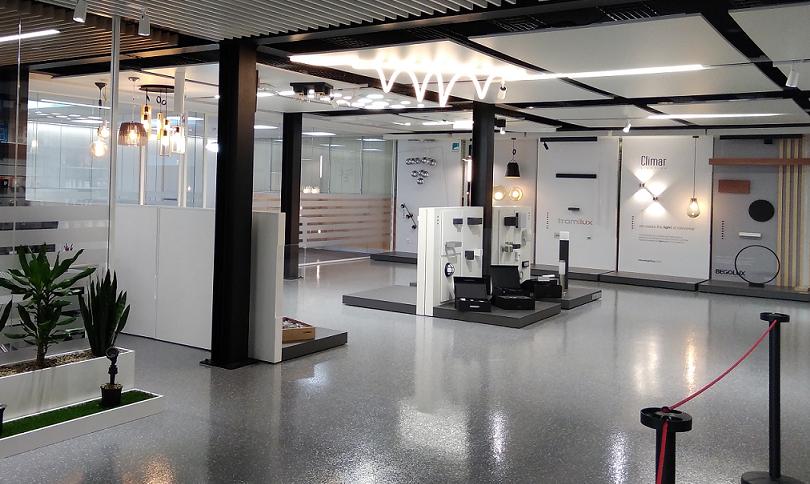 Inauguração da nova área de Showroom Iluminação em Leiria