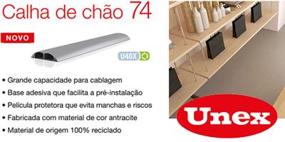 UNEX Calha de chão 74